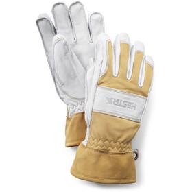Hestra Fält Guide 5 Finger Gloves naturgul/offwhite